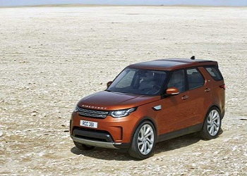 Fifth Generation of Land Rover Discovery Rendered