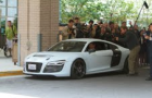 Audi R8, A7 and other cars in action in Marvel's Iron Man 3 releasing on May 3