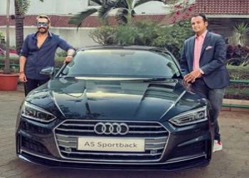 Actor Ajay Devgan wins Audi A5 Sports Car At Koffee With Karan