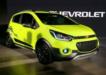 Chevrolet Beat Activ Concept Showcased at 2016 LA Auto Show