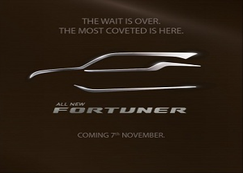 Next Generation Toyota Fortuner Enters in Yards of Dealers