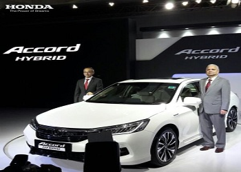 Honda launches Accord Hybrid, priced Rs. 37 lakh