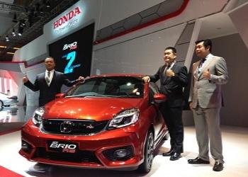 Honda unveils facelift of 2016 Brio Hatchback