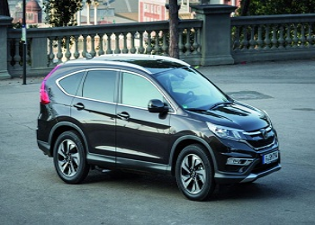 Made for India Honda CR-V captured camouflaged in U.S