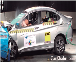 Honda City awarded 5 star rating in NCAP Test