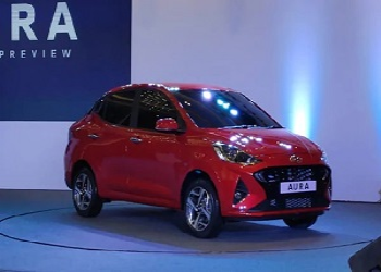 First Images of Aura Revealed By Hyundai
