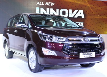 Toyota Innova Crysta to launch during mid of May 2016