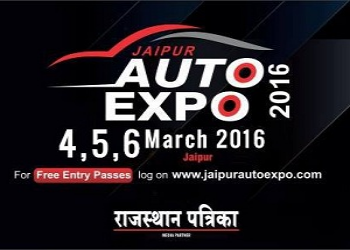 Jaipur Auto Expo 2016: Curtain to raise today
