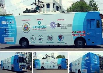 World's First Mobile Coronavirus Testing Lab In Mumbai