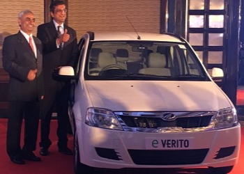 Mahindra launches e-Verito with starting price of Rs. 9.5 lakh