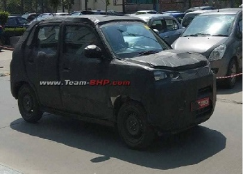 Generation Next Maruti Suzuki Alto Caught Under Test Drive