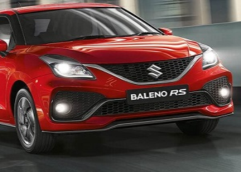 MSIL Reveals The First Image Of Baleno RS At Nexa Website