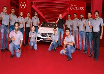 Facelift Mercedes-Benz C-Class Launched In India, Priced Rs. 40 Lakh