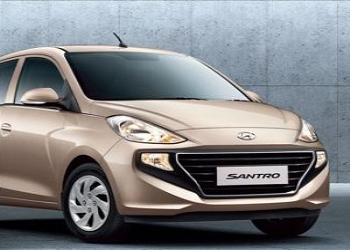 Book Generation Next Hyundai Santro By Paying Rs. 11,100