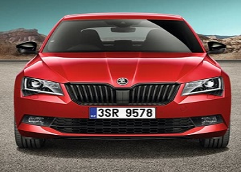 Skoda Launches Sportline Version Of Superb Sedan