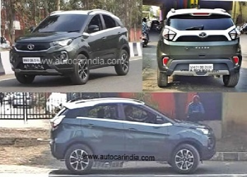 First Images Of Tata Nexon Facelift Revealed Online