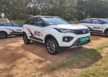 65 Units Of Tata Nexon EV Delivered To Kerala Motor Vehicle Department