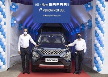More Than 1700 Safari SUVs Rolled Out By Tata Motors In A Month