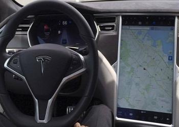 Moon Cheats Tesla's Autopilot Feature In Self-Driving Car