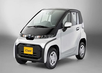 Toyota Unveils C+Pod Minuscule EV In Japan, To Rival Mahindra E20