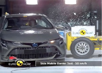 India Bound Toyota Corolla Score Five Stars In EURO NCAP Crash Test