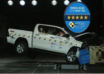 Toyota Fortuner, Corolla Cross, And Hilux Score Five Stars In ASEAN NCAP