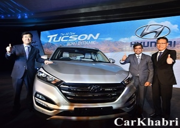 Hyundai Launched Tucson SUV in India, Priced @ Rs.18.99 Lakh