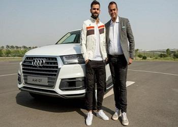 One More Audi Enters the Yard of Virat Kohli